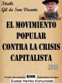 2008 El movimiento popular contra la crisis capitalista
